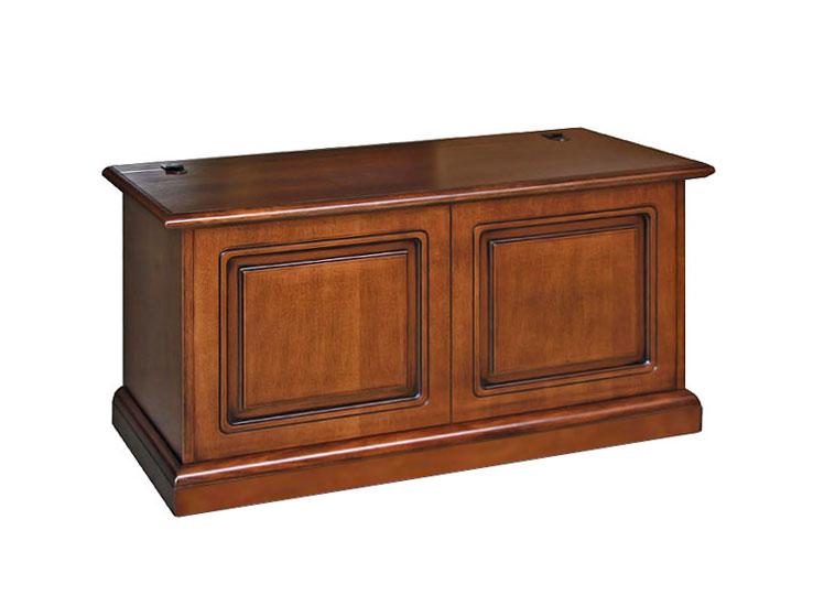 coffre de rangement classique en bois meuble d 39 entr e. Black Bedroom Furniture Sets. Home Design Ideas
