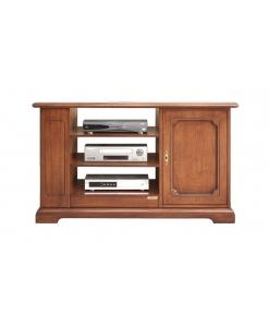 meuble tv, meuble tv classique, ameublement de style, meuble en bois