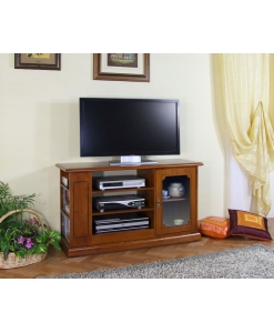 meuble tv, meuble tv en bois, meuble tv avec 1 porte, ameublement de style