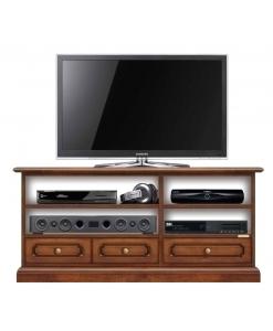 meuble tv, meuble tv avec tiroirs, meuble tv en bois, ameublement pour le salon, ameublement classique