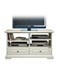 meuble tv, meuble tv laqué, ameublement classique