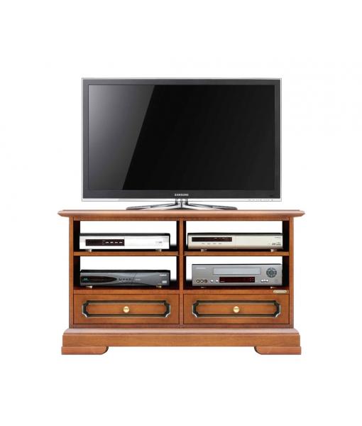 Meuble Tv 2 tiroirs et niches Arteferretto, Réf. 3800-PLUS