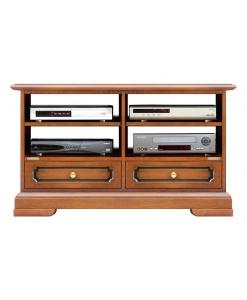 Meuble Tv 2 tiroirs et niches Arteferretto