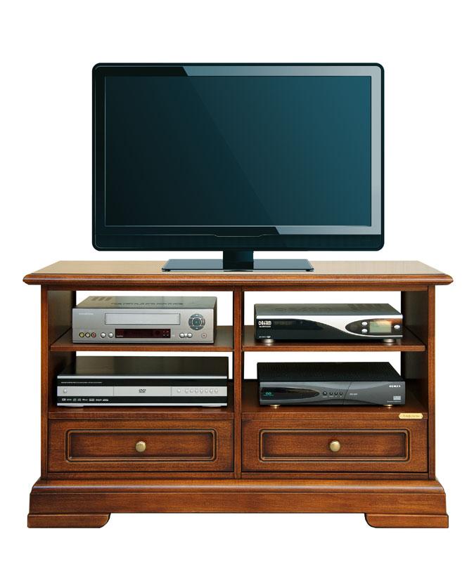 Meuble tv 2 tiroirs et tag res ebay Meuble qui a plusieurs tiroirs