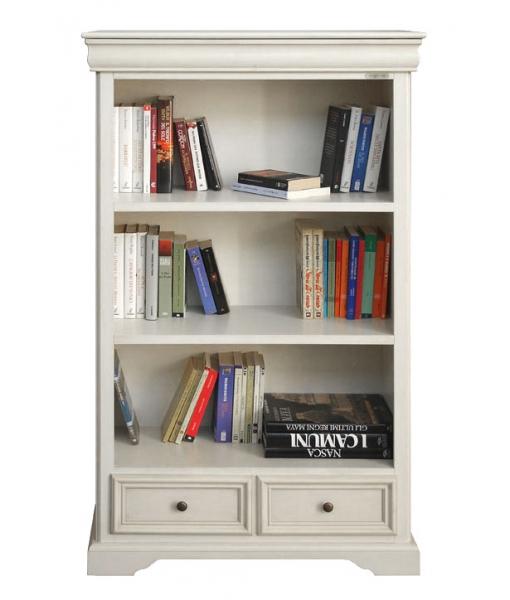 biblioth que louis philippe laqu e lamaisonplus. Black Bedroom Furniture Sets. Home Design Ideas