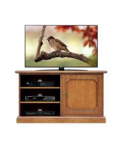 meuble tv, meuble tv en bois, ameublement classique
