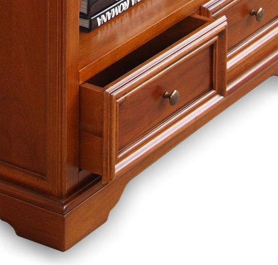 petite biblioth que louis philippe lamaisonplus. Black Bedroom Furniture Sets. Home Design Ideas