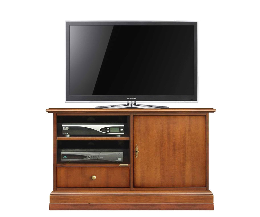meuble support tv simply 106 cm lamaisonplus. Black Bedroom Furniture Sets. Home Design Ideas