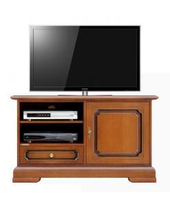 Meuble Tv Midi 1 porte 1 tiroir Arteferretto