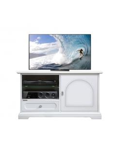 Meuble Tv 1 porte 1 tiroir et étagères
