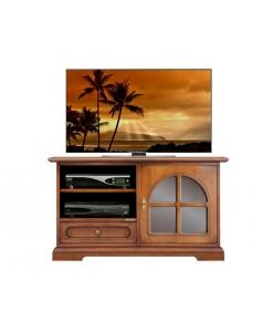 meuble tv 1 porte, meuble tv, meuble tv classique, ameublement de style