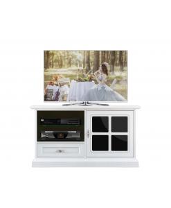 meuble tv midi, meuble tv classique, ameublement pour le salon, petit meuble laqué