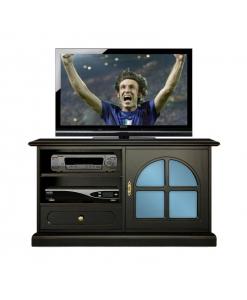 meuble tv noir, meuble tv, petit meuble tv, meuble tv laqué, ameublement classique, meuble tv pour le salon