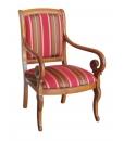fauteuil, fauteuil en bois, ameublement de style classique, ameublement pour le salon,