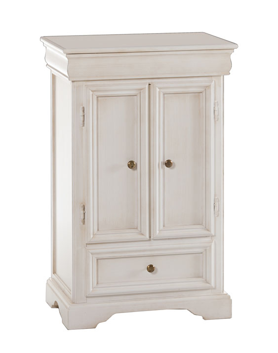 petit confiturier style louis philippe laqu petit meuble de rangement blanc ebay. Black Bedroom Furniture Sets. Home Design Ideas