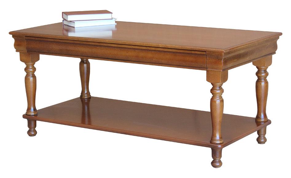 table basse de style louis philippe table de salon en bois table classique ebay. Black Bedroom Furniture Sets. Home Design Ideas