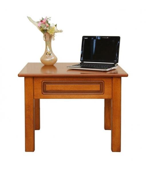 Table basse carr e de salon lamaisonplus for Petite table basse carree