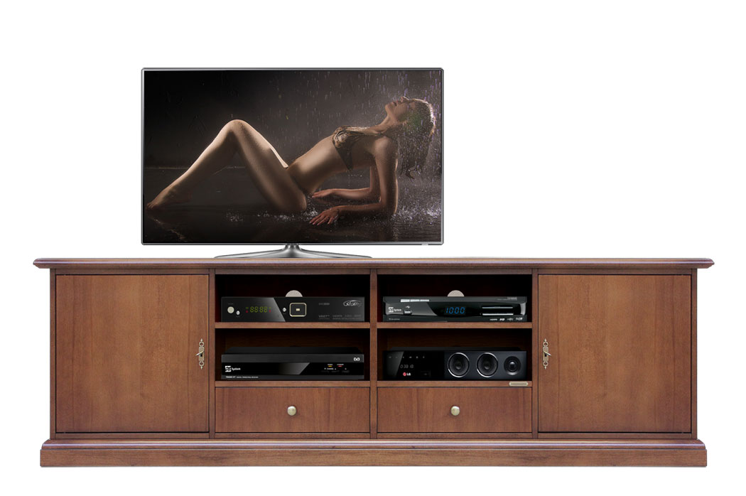 meuble tv 2 m tres largeur simplyx lamaisonplus. Black Bedroom Furniture Sets. Home Design Ideas