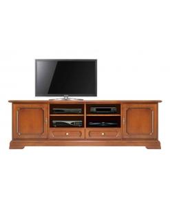 Meuble TV Lcd en bois 2 mètres largeur Arteferretto