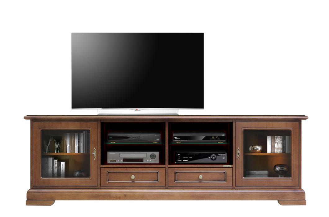 Meuble tv 2 m tres largeur lamaisonplus for Meuble tv 2 metres