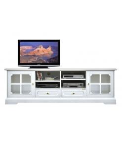 meuble tv en bois, meubl etv, grand meuble tv, ameublement classique, meuble tv de style