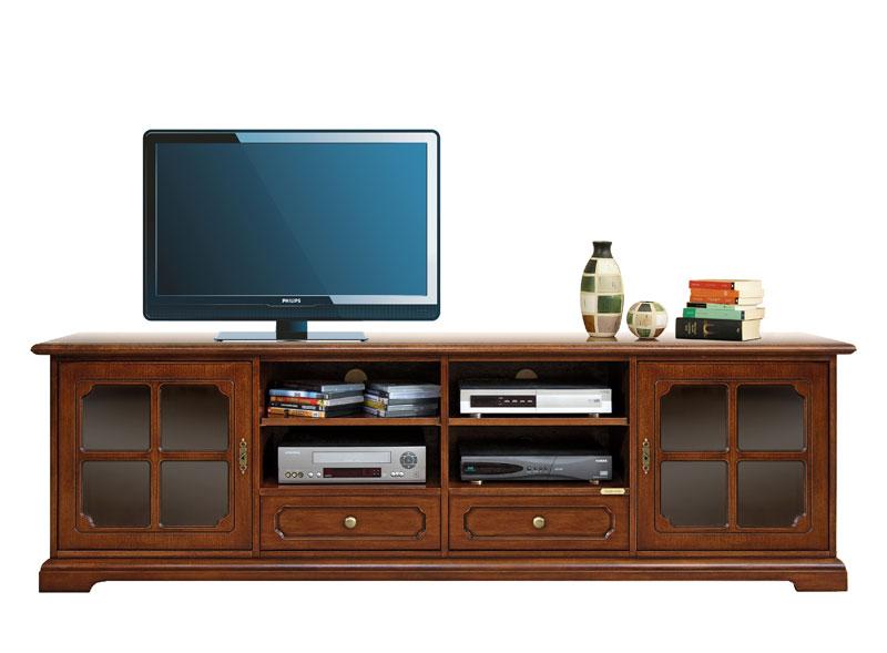 meuble tv style classique lamaisonplus. Black Bedroom Furniture Sets. Home Design Ideas