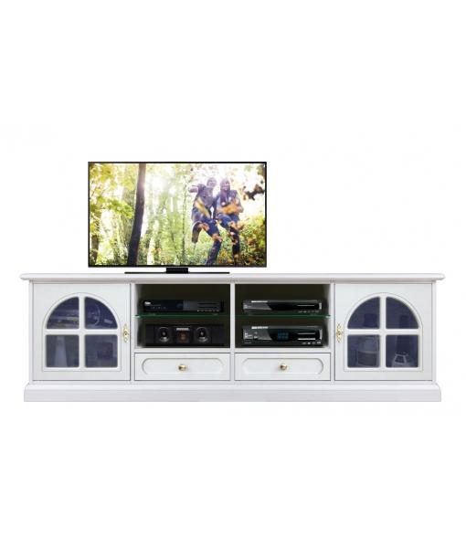 meuble tv classique, meuble tv, meuble tv laqué, meuble tv en bois, ameublement pour le salon, 4010-TVG