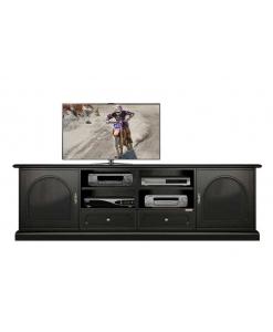 meuble tv, meuble tv noir