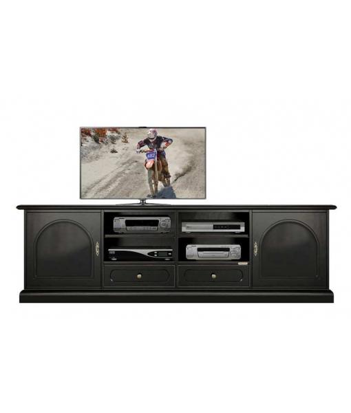 meuble tv Total Black ref. 4011-BB