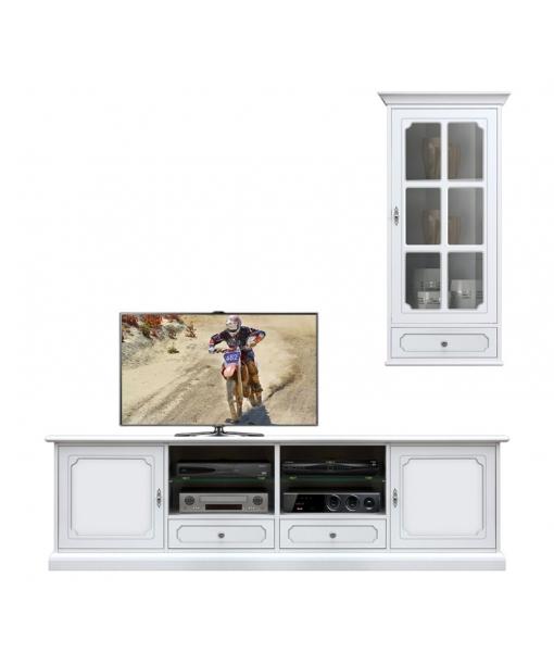Composition meubles coin TV réf. 4012-SPAV