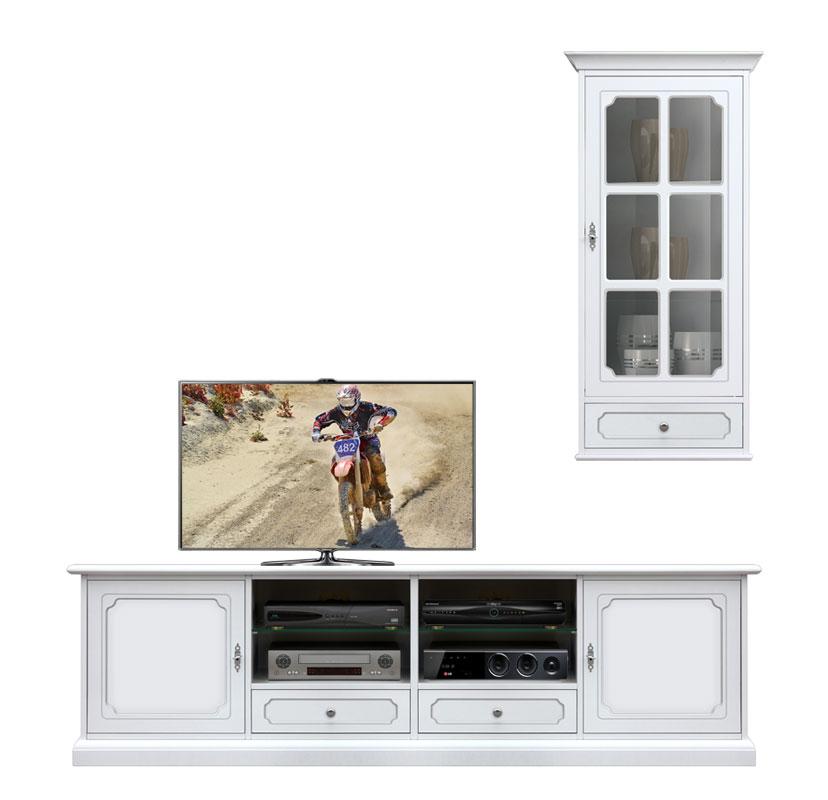 Composition meubles coin tv lamaisonplus for Meuble coin tv