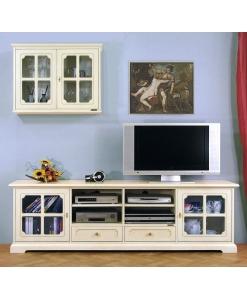 composition meubles tv, meuble tv, vitrine, ameublement de style, ameublement classique, ameublement pour le salon