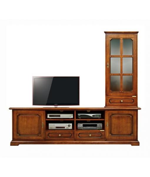 composition meubles tv lamaisonplus. Black Bedroom Furniture Sets. Home Design Ideas