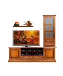 composition meubles tv, meubles tv, ameublement pour le salo, ameublement classique