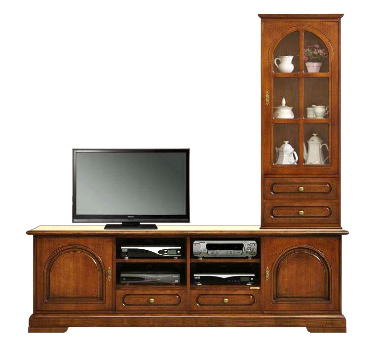 composition meubles tv banc tv et vitrine lamaisonplus. Black Bedroom Furniture Sets. Home Design Ideas