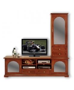 meuble tv, meuble tv et vitrine, vitrine, meuble de style, meubles classiques