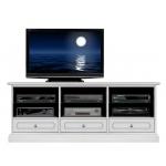 meuble tv 3 tiroirs 150 cm largeur, ameublement de style classique, meuble tv en bois, meuble tv laqué