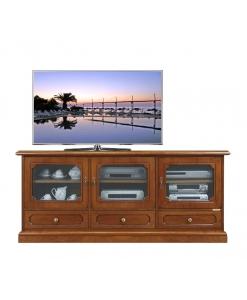 meuble tv, meuble tv en bois, meuble tv de style, ameublement pour le salon