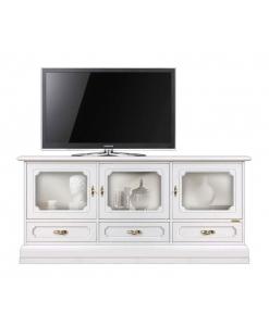 meuble tv vitrine, meuble tv classique, meuble tv laqué, meuble vitrine, ameublement pour le salon