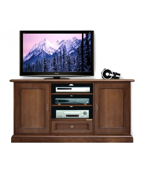 meuble tv classique 130 cm largeur lamaisonplus. Black Bedroom Furniture Sets. Home Design Ideas