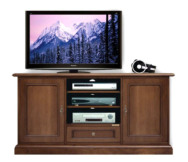 Meuble tv classique 130 cm largeur lamaisonplus Meuble classique