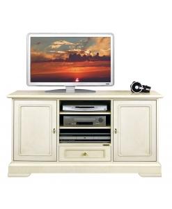meuble tv classique, meuble tv laqué, meuble tv pour le salon