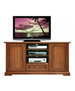 meuble tv home cinema lamaisonplus. Black Bedroom Furniture Sets. Home Design Ideas