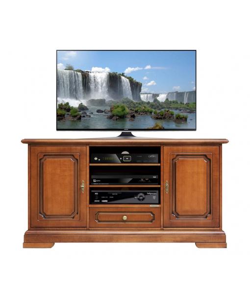 Meuble Tv largeur 133 cm 2 portes 1 tiroir, RÉF : 4040-S-plus