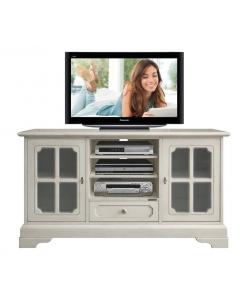 meuble tv 2 portes, meuble tv, meuble tv classique, meuble tv laqué, ameublement classique