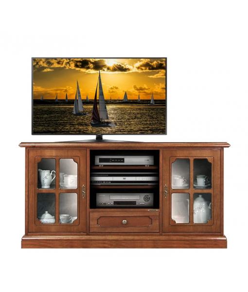 Meuble tv 2 portes 1 tiroir lamaisonplus for Meuble tv petite largeur