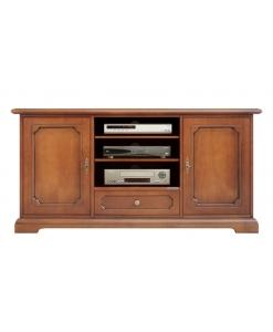 meuble tv 2 portes. meuble tv en bois, meuble tv classique, meuble de style, meuble tv pour le salon