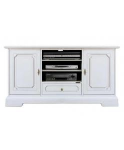 meuble tv classique 130 cm largeur lamaisonplus. Black Bedroom Furniture Sets. Home Design Ideas