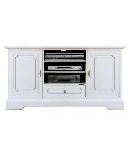 meuble tv de style cm 130 largeur lamaisonplus. Black Bedroom Furniture Sets. Home Design Ideas