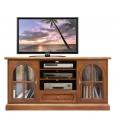 meuble tv 2 portes, meuble tv en bois, meuble tv pour le salon, ameublement classique